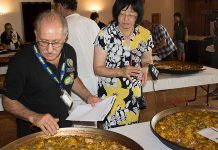 concurso de paellas de Sueca