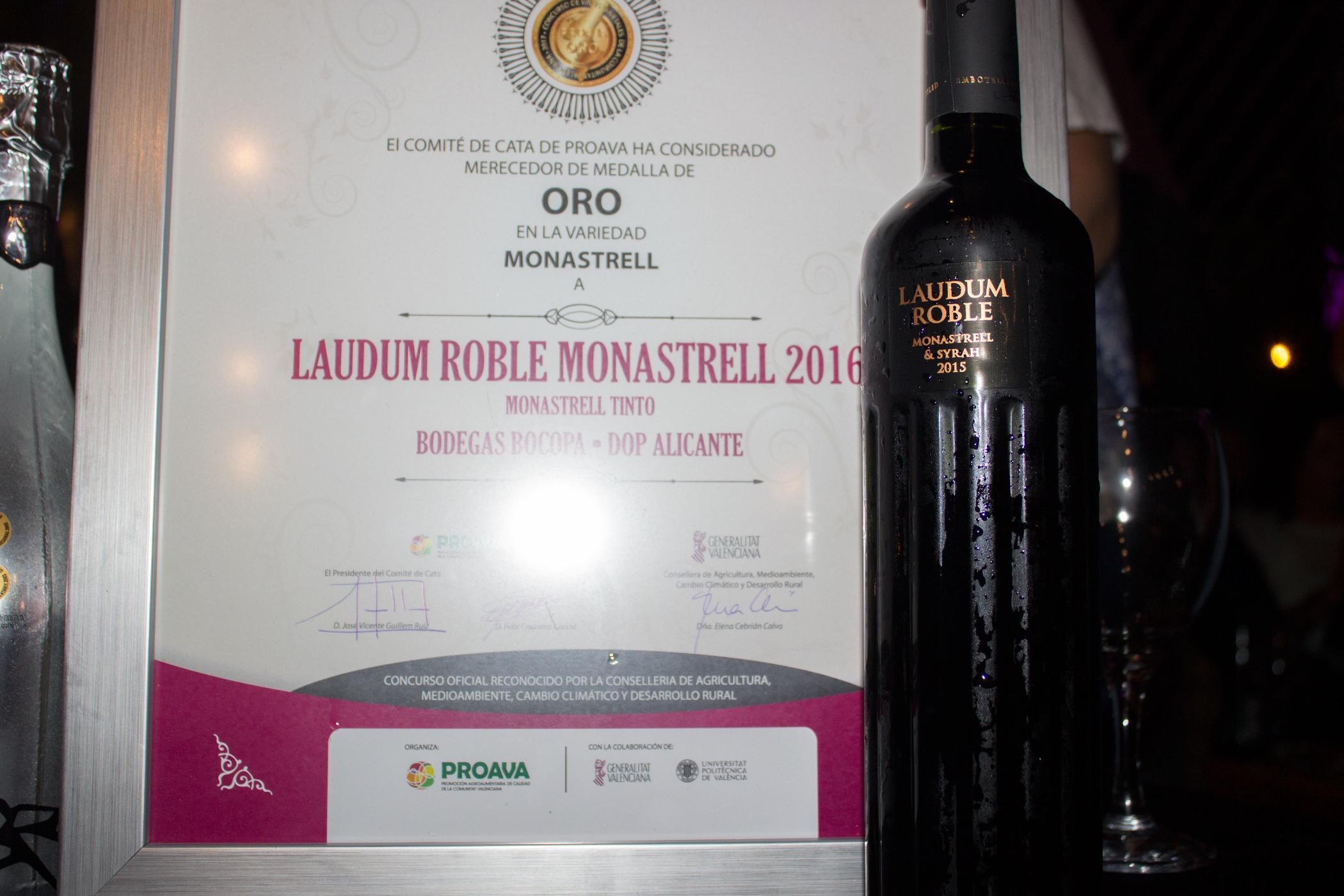 Bocopa consigue tres premios en el Concurso de vinos varietales de la Comunidad Valenciana
