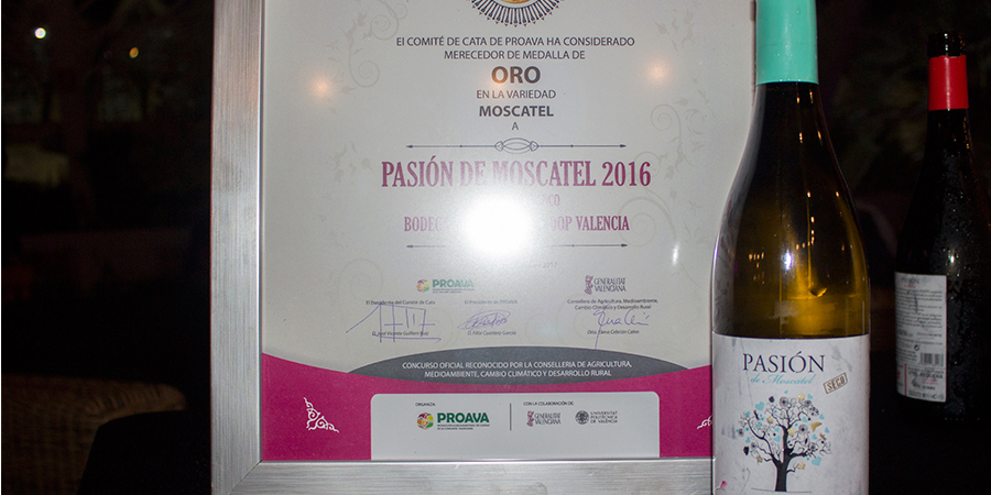 Sierra Norte premiado el el Concurso de varietales de la Comunidad Valenciana