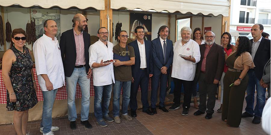 Inauguración de la Feria Gastronómica de L´Alcudia