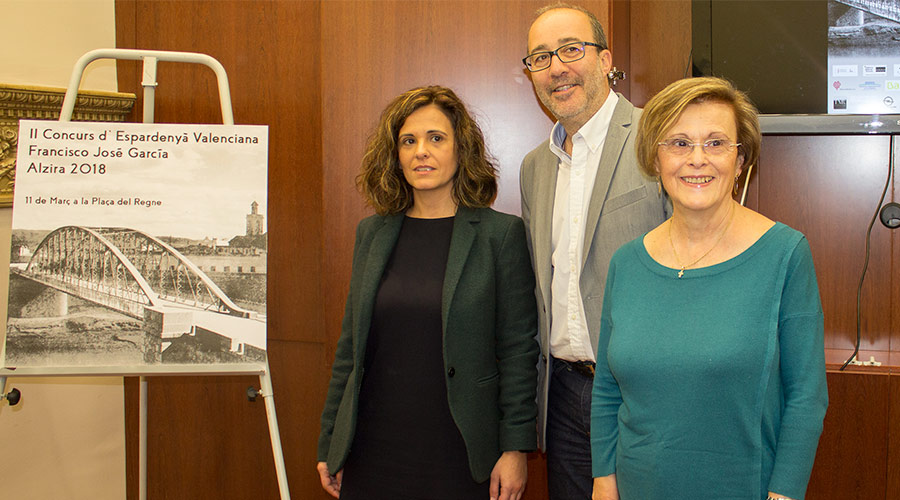 2ª Edición del Concurso d´Espardenyá valenciana Francisco José García en Alcira