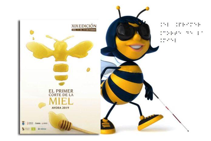 Primer corte de la Miel en Ayora, Feria de la Miel