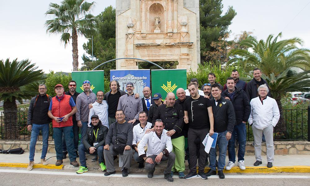 El Restaurante Asador L'Alfàbega se corona con el mejor gazpacho en Tous
