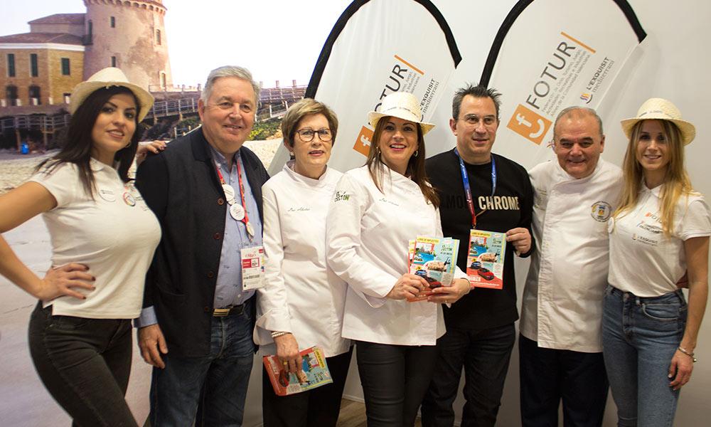 Los Abetos representan a la Asociación Gastronómica de la Cassola de Sant Blai en FITUR