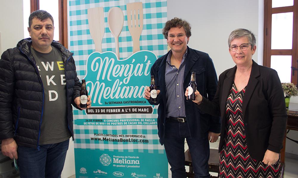 Presentación de Menjat Meliana y del Concurso de Paella de Fetge de Bou