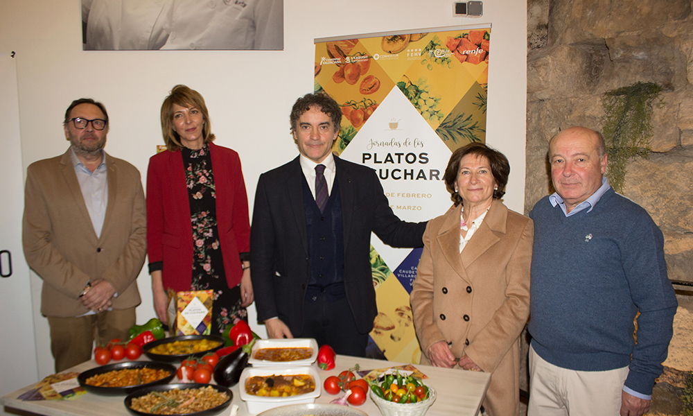 Presentación de la VI edición de la ruta gastronómica de los platos de cuchara