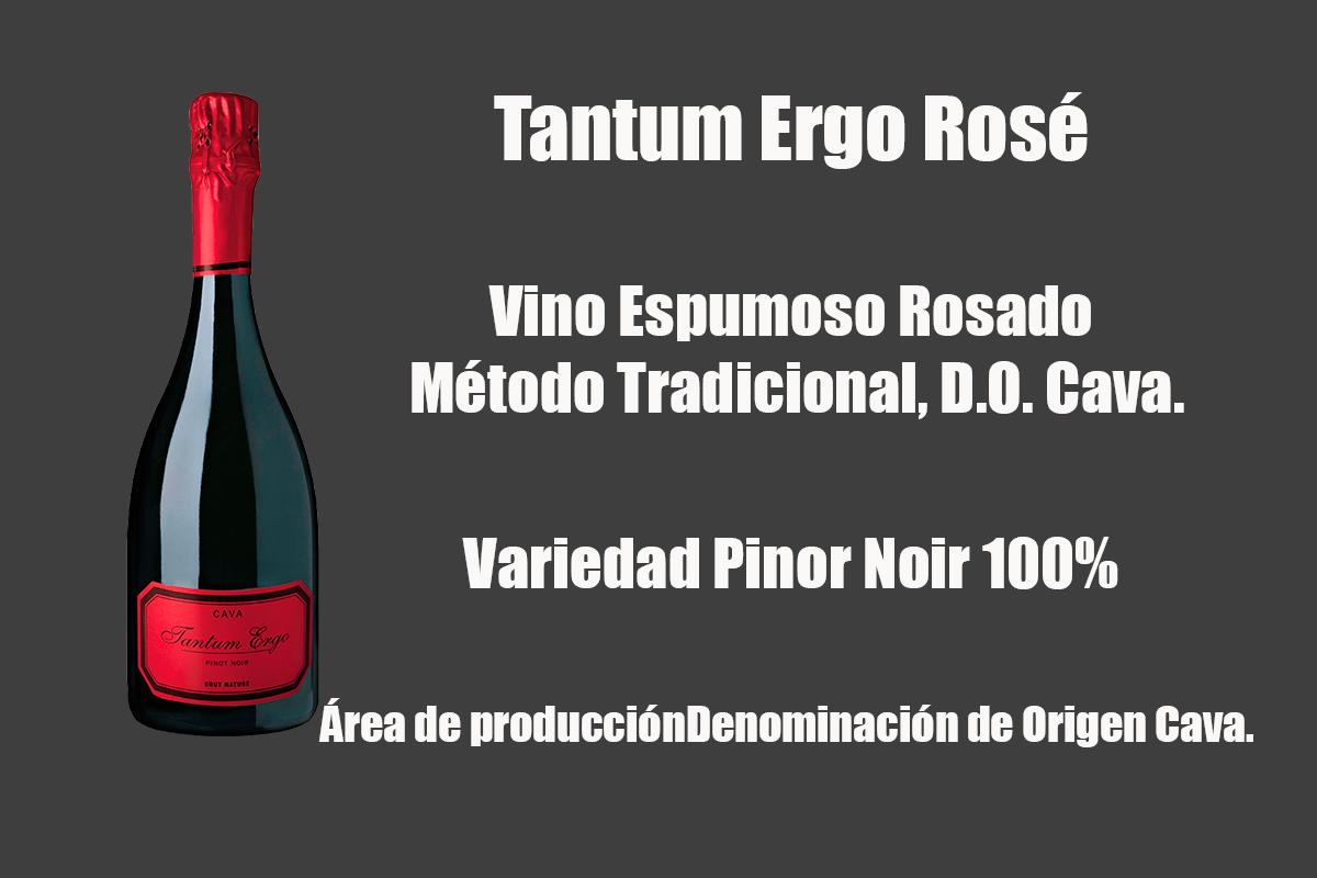 Tantum Ergo Rosé, premiat com a millor Cava d'Espanya