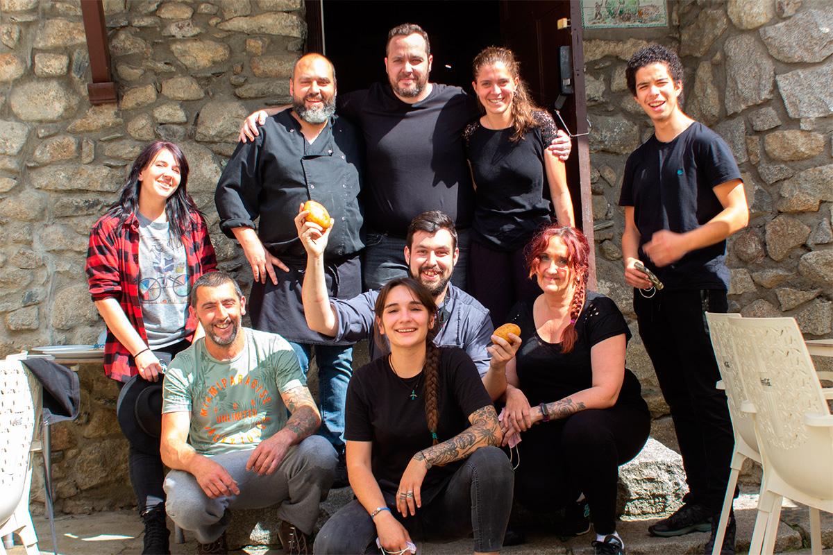 Equipo de Chef Amadeo en Santa Coloma, Andorra