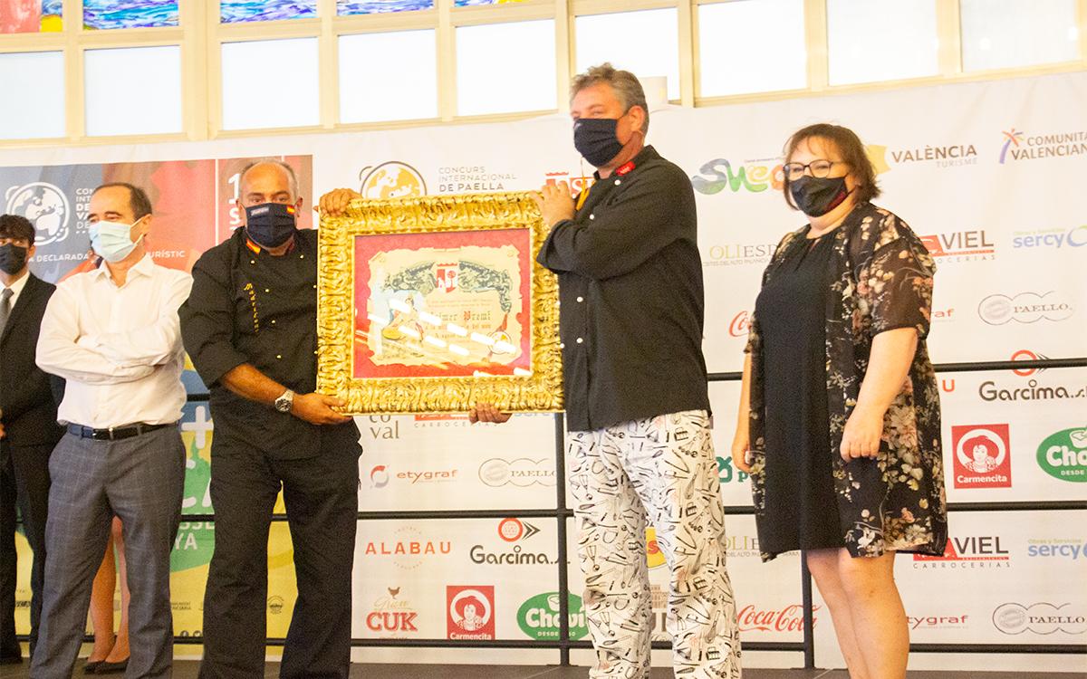 1 premio Concurs Internaciona de Paellas de Sueca